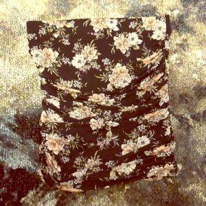 Torrid sz 1 Floral Mini Skirt NWT